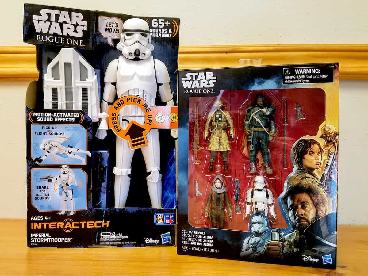 Star Wars Party Ideas Rogue One toys
