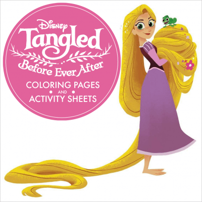 Tangled Before Ever After Coloring Pages and Activity Sheets