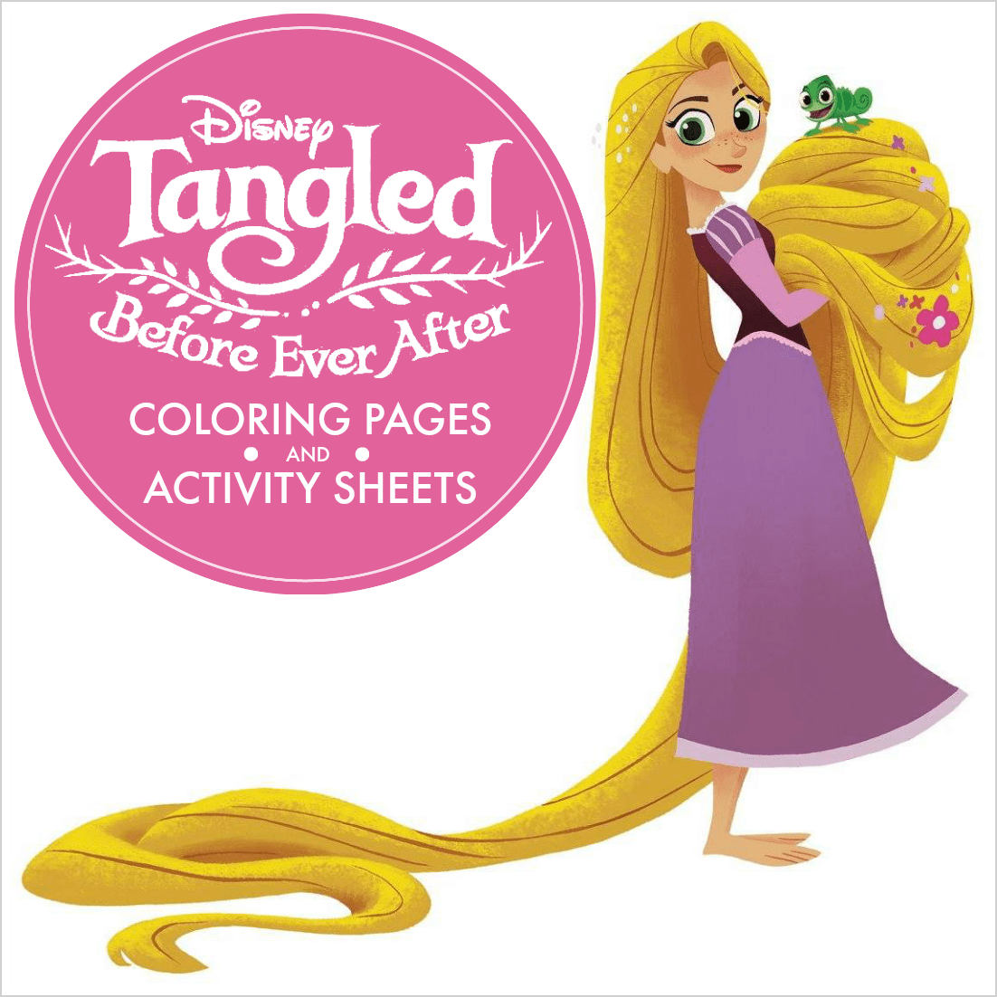 170 FREE Tangled Coloring Pages (July 2020) Rapunzel Coloring Pages | 1102x1102