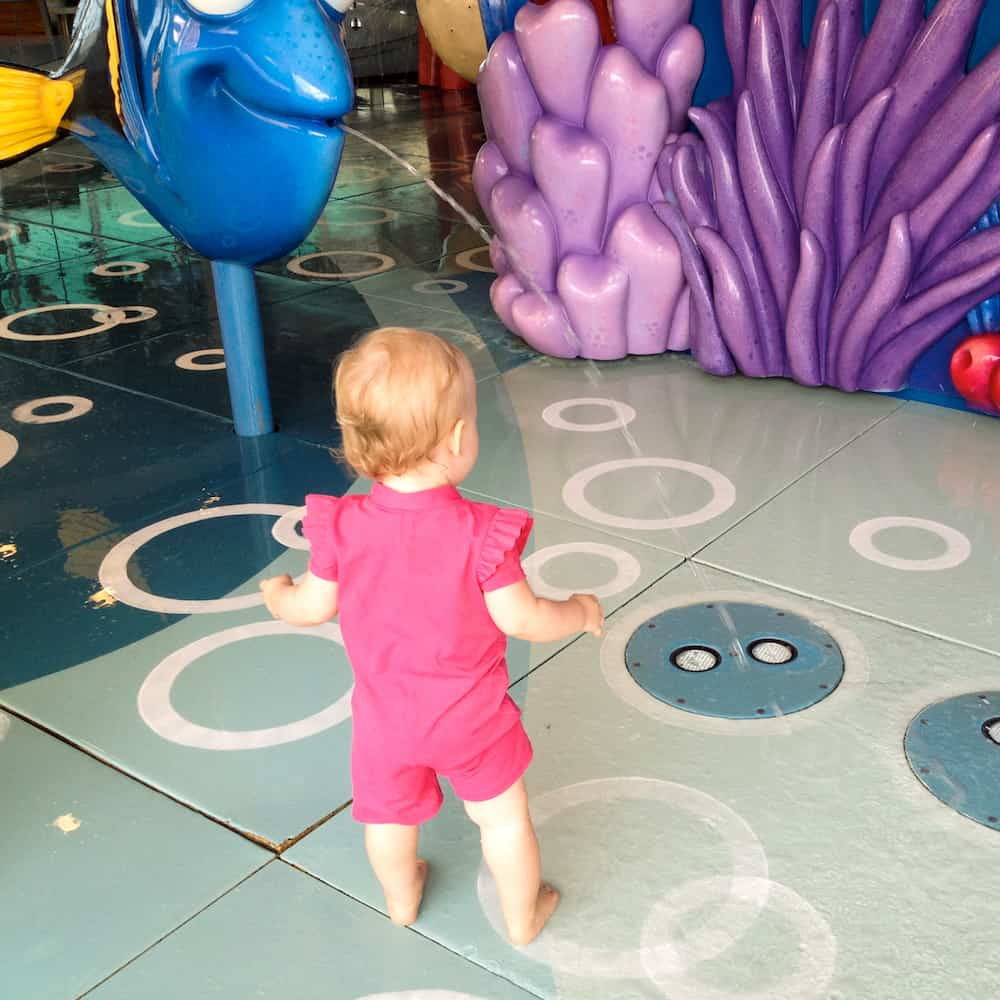 disney cruise line with a baby pool