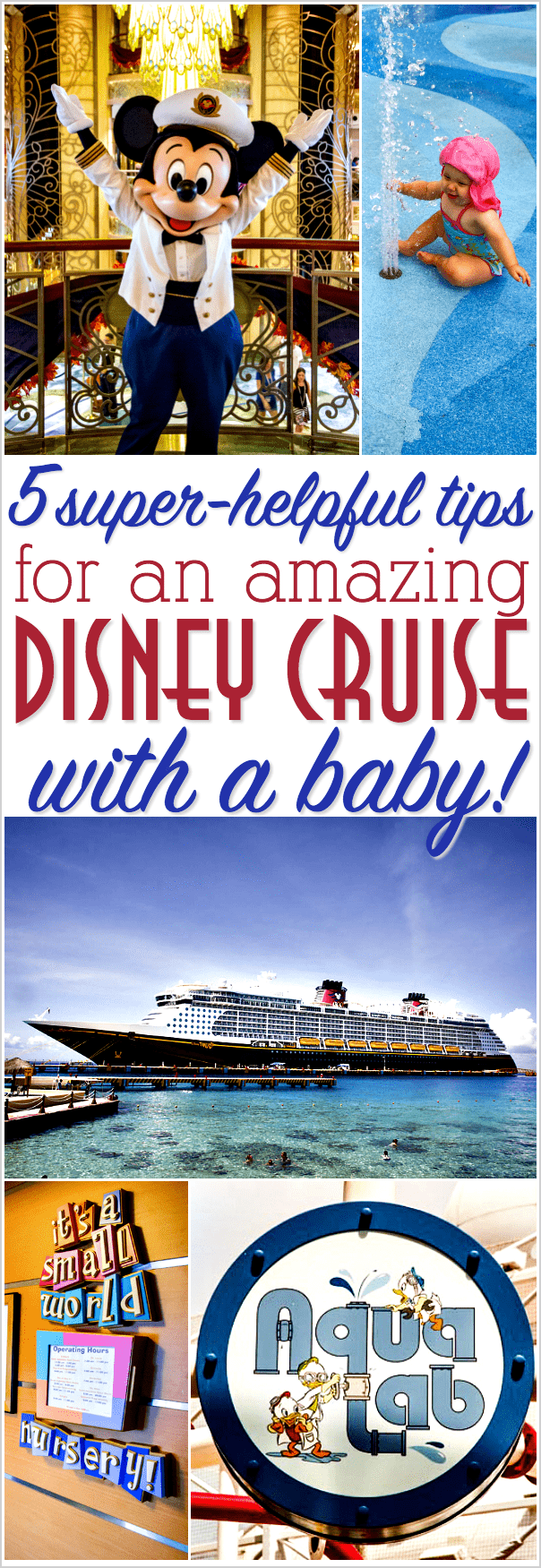 disney cruise with a baby tips