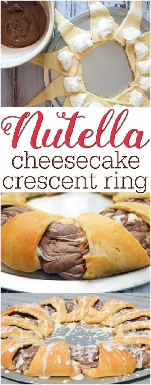 Nutella crescent ring