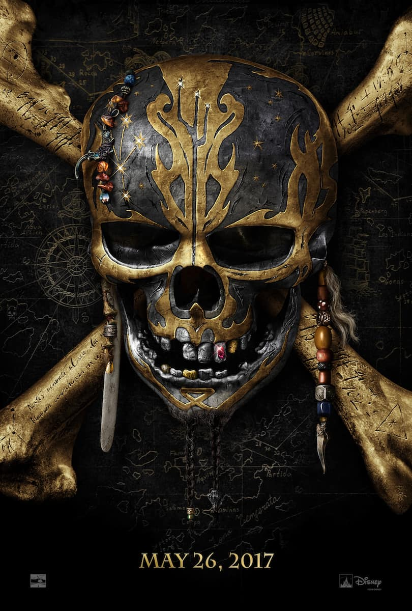 Pirates of the Caribbean Dead Men Tell No Tales trailers