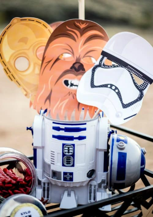 Star Wars party ideas - printable masks