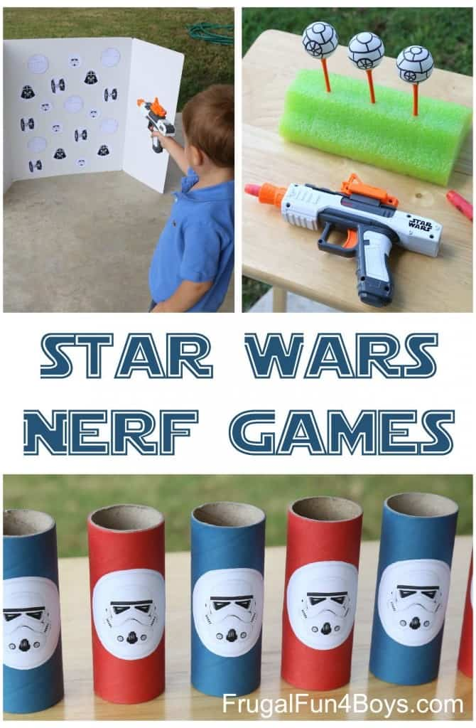 Star Wars party ideas games
