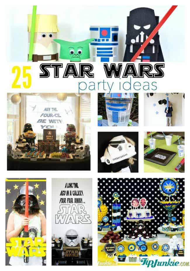 The best star wars party ideas 200 foods decorations games and more - Decoration table theme star wars ...