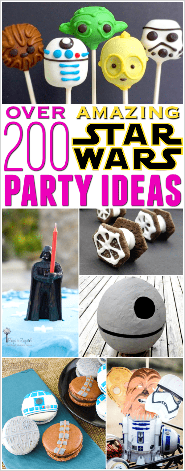 Star Wars party ideas for food, decorations, party favors and more