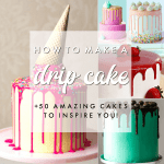 how to make a drip cake easy