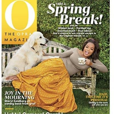 Amazon Magazine Deal: 1 Year of The Oprah Magazine only $5!