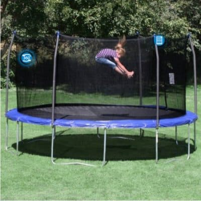 Save 43% on the Skywalker Trampolines 15′ Round Trampoline and Enclosure, Free Shipping Eligible!