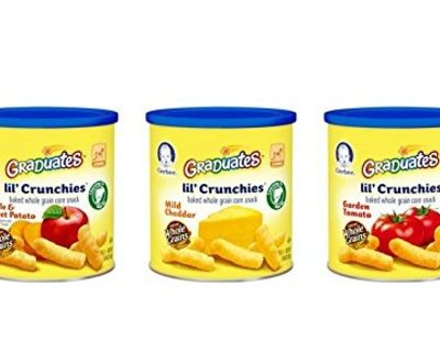 Save Extra 30% on the Gerber Graduates Lil' Crunchies, Free Shipping Eligible!