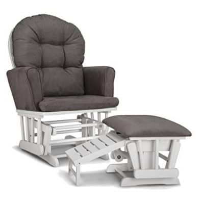 Save 54% on the Graco Parker Semi-Upholstered Glider and Nursing Ottoman, Free Shipping Eligible!