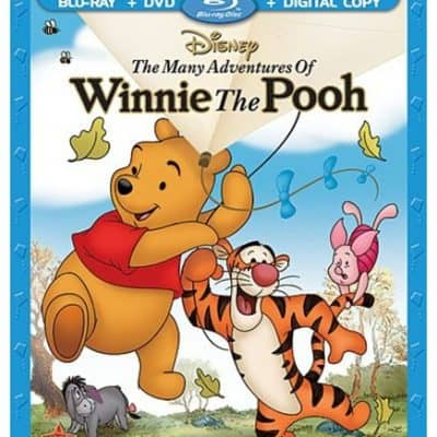 The Many Adventures of Winnie the Pooh (Blu-ray / DVD + Digital Copy) only $9.99, Free Shipping Eligible!