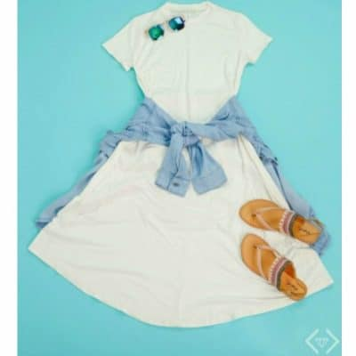 Cents of Style Promo Code: Short Sleeve Swing Dress for $21.95 + Free Shipping Today Only!