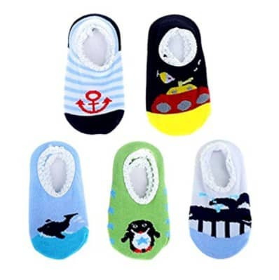 Save 27% on the Blulu 5 Pairs Baby Socks Anti Slip Skid Socks, Free Shipping Eligible!
