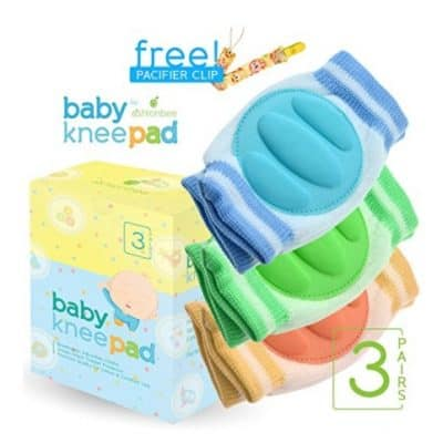 Save 45% on the Baby Knee Pads for Crawling (3 Pairs), Free Shipping Eligible!