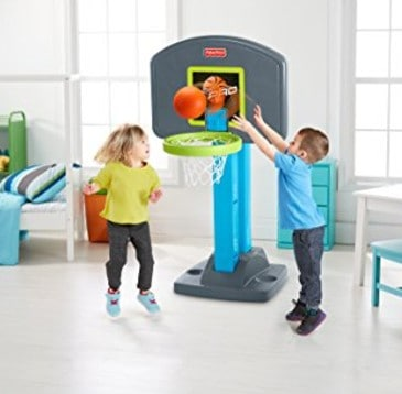 Save 40% on the Fisher-Price Grow-to-Pro Basketball, Free Shipping Eligible!