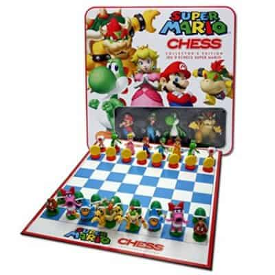 Save 41% on the Super Mario Chess Collector's Edition Tin, Free Shipping Eligible!
