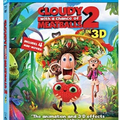 Save 81% on the Cloudy with a Chance of Meatballs 2 Three-Disc Combo, Free Shipping Eligible!