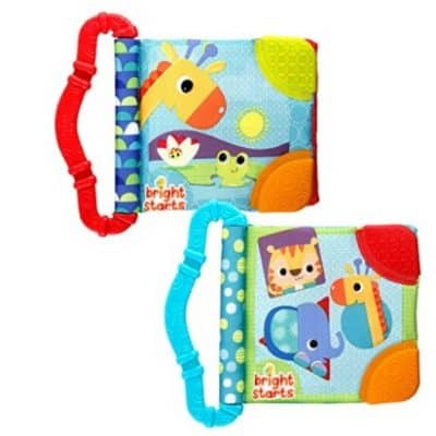 Save 42% on the Bright Starts Teethe and Read Teether Book, Free Shipping Eligible!