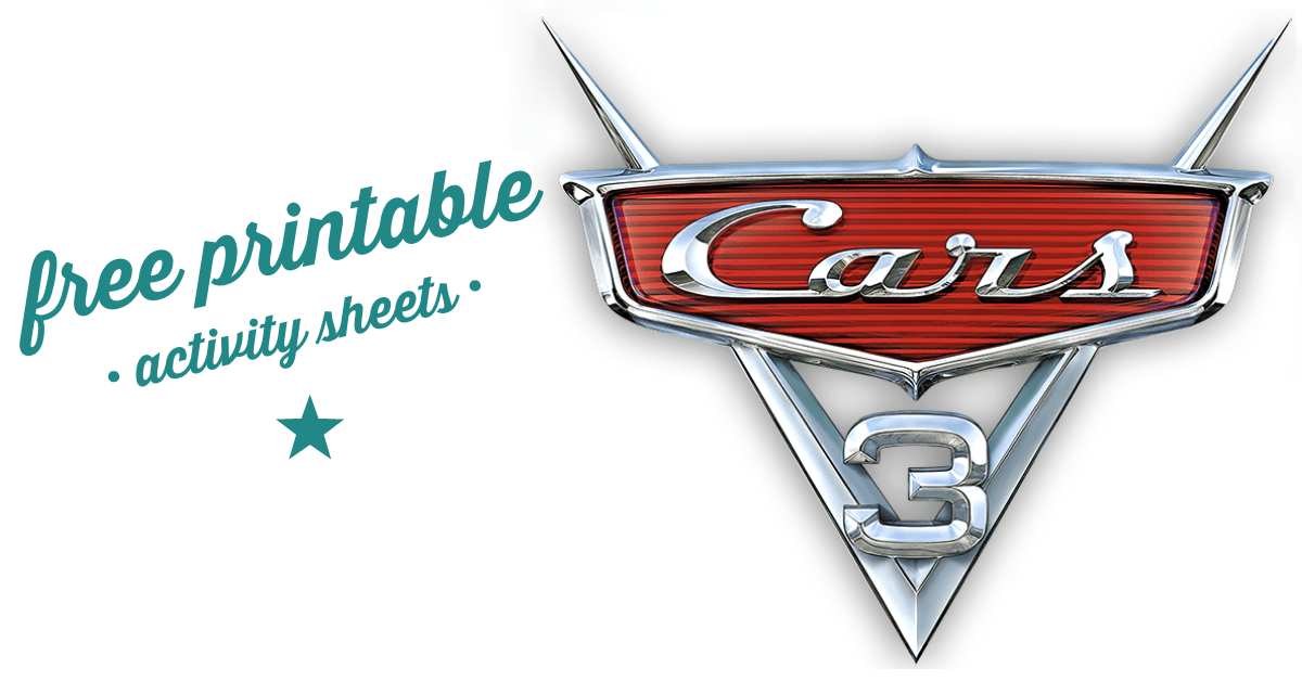 Free Printable Cars 3 Activity Sheets and a New Cars 3 ...
