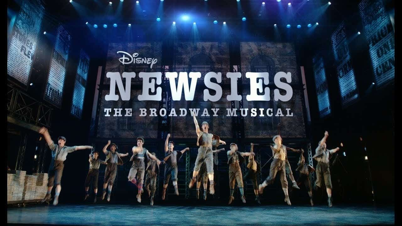 disney newsies live dvd