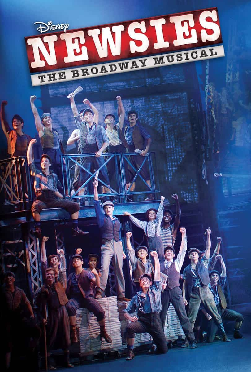 disney newsies musical dvd