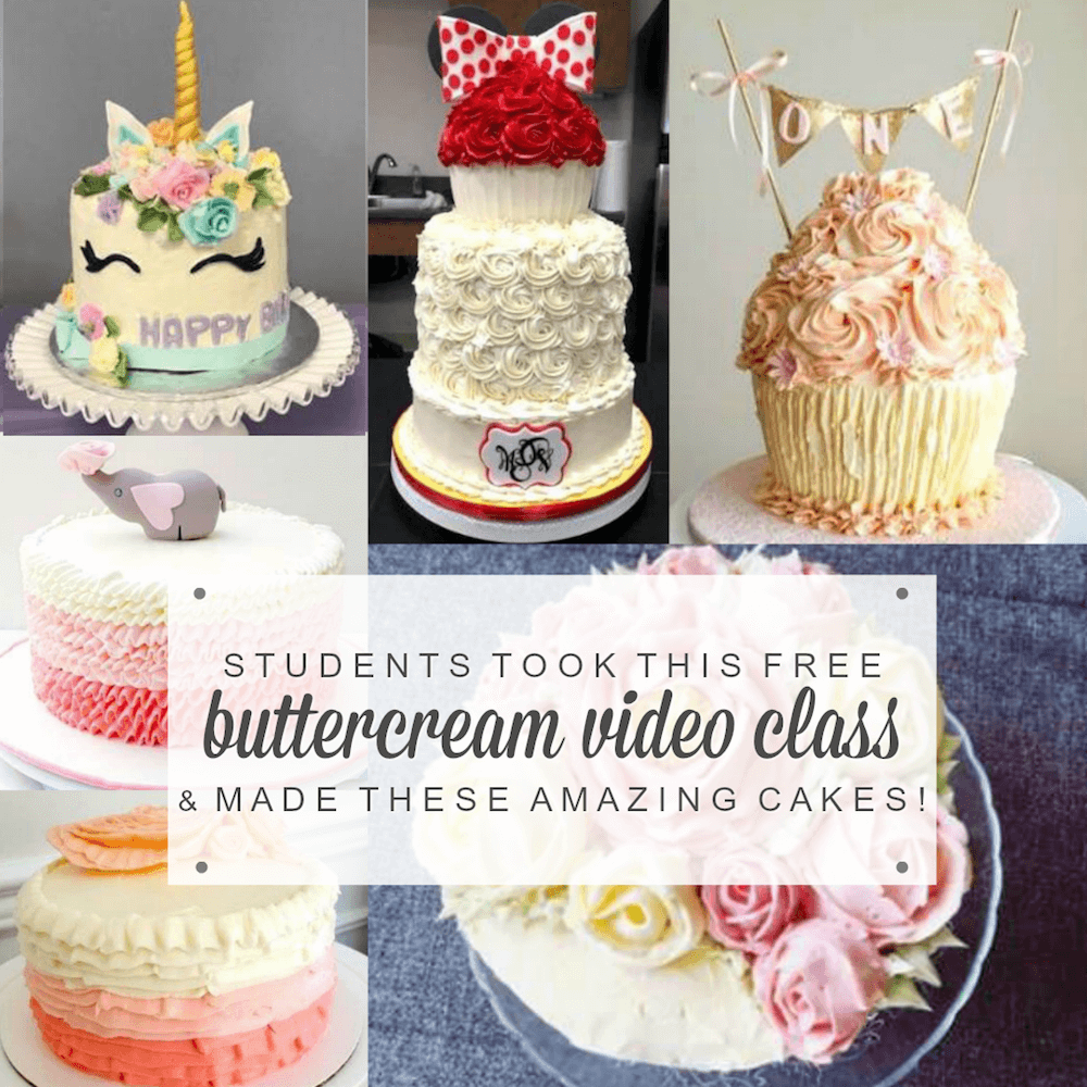 how to make a drip cake video tutorial