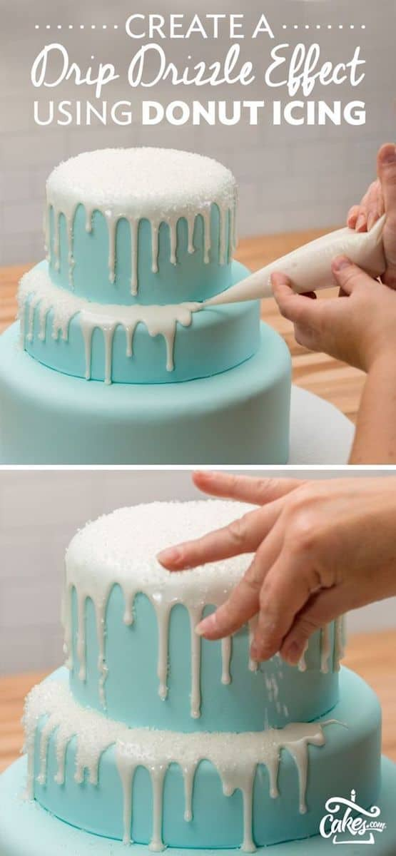 How to make a drip cake