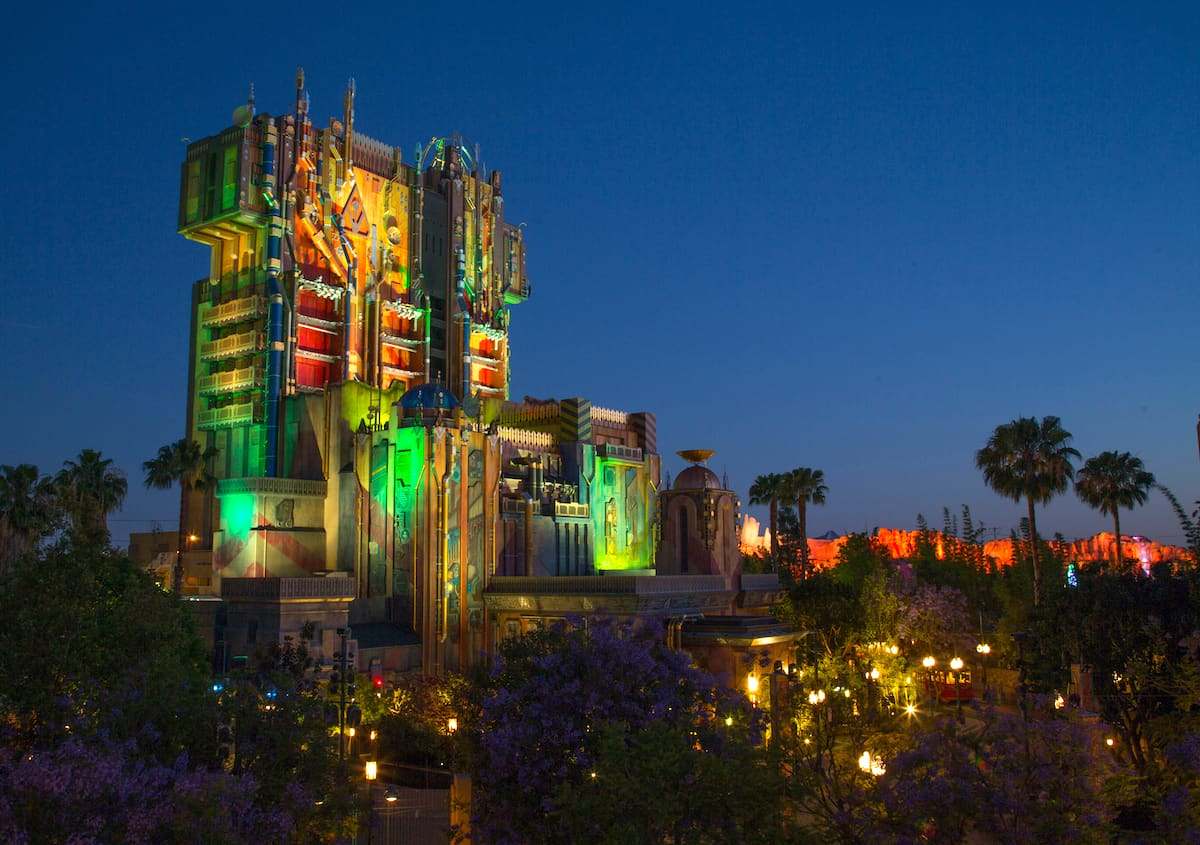 Guardians of the galaxy mission breakout at night