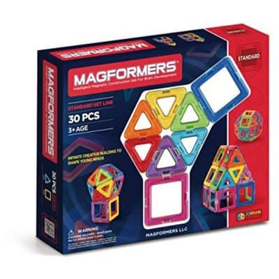 Save 49% on Magformers Standard 30 Piece Set, Free Shipping Eligible!