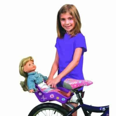"""Save 28% on the """"Ride Along Dolly"""" 18″ Doll Bicycle Seat with Decorate Yourself Decals, Free Shipping!"""