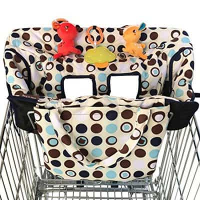 Save 70% on the Crocnfrog 2-in-1 Shopping Cart Cover | High Chair Cover, Free Shipping Eligible!