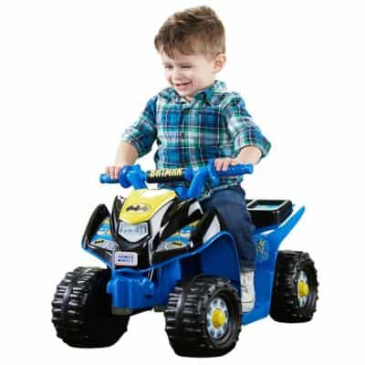Save 30% on the Power Wheels Power Wheels Batman Lil' Quad, Free Shipping Eligible!