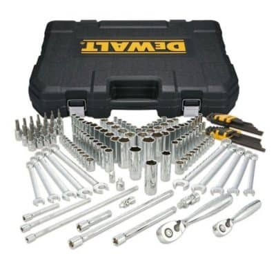 Save 57% on the DEWALT 56 Piece Mechanics Tool Set, Free Shipping Eligible! {Great Father's Day Gift Idea!}