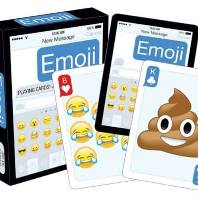 Save 32% on the Emoji Playing Cards, Free Shipping Eligible!