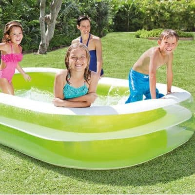 Intex Swim Center Family Inflatable Pool only $25, Free Shipping Eligible!