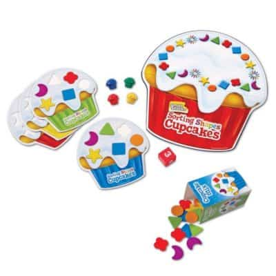 Save 37% on the Sorting Shapes Cupcakes Game, Free Shipping Eligible!
