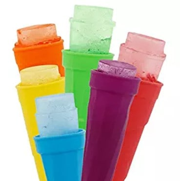Silicone Popsicle Molds- Set of 6 Easy to Squeeze Ice Pop Tubes only $8.99, Free Shipping Eligible!
