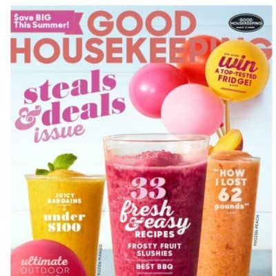 Amazon Magazine Deal: Good Housekeeping Magazine only $5!