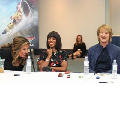 cars 3 interview cristela armie kerry washington owen wilson