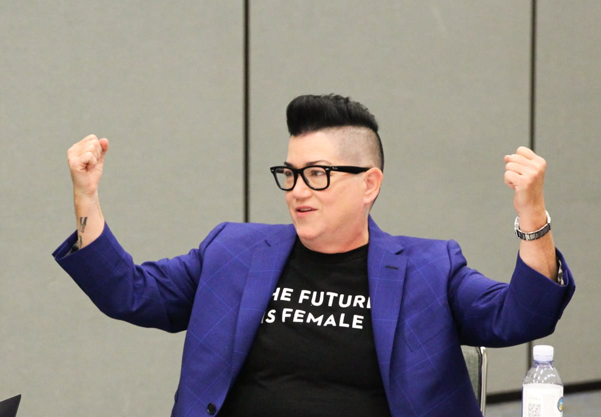 lea delaria cars 3 interview