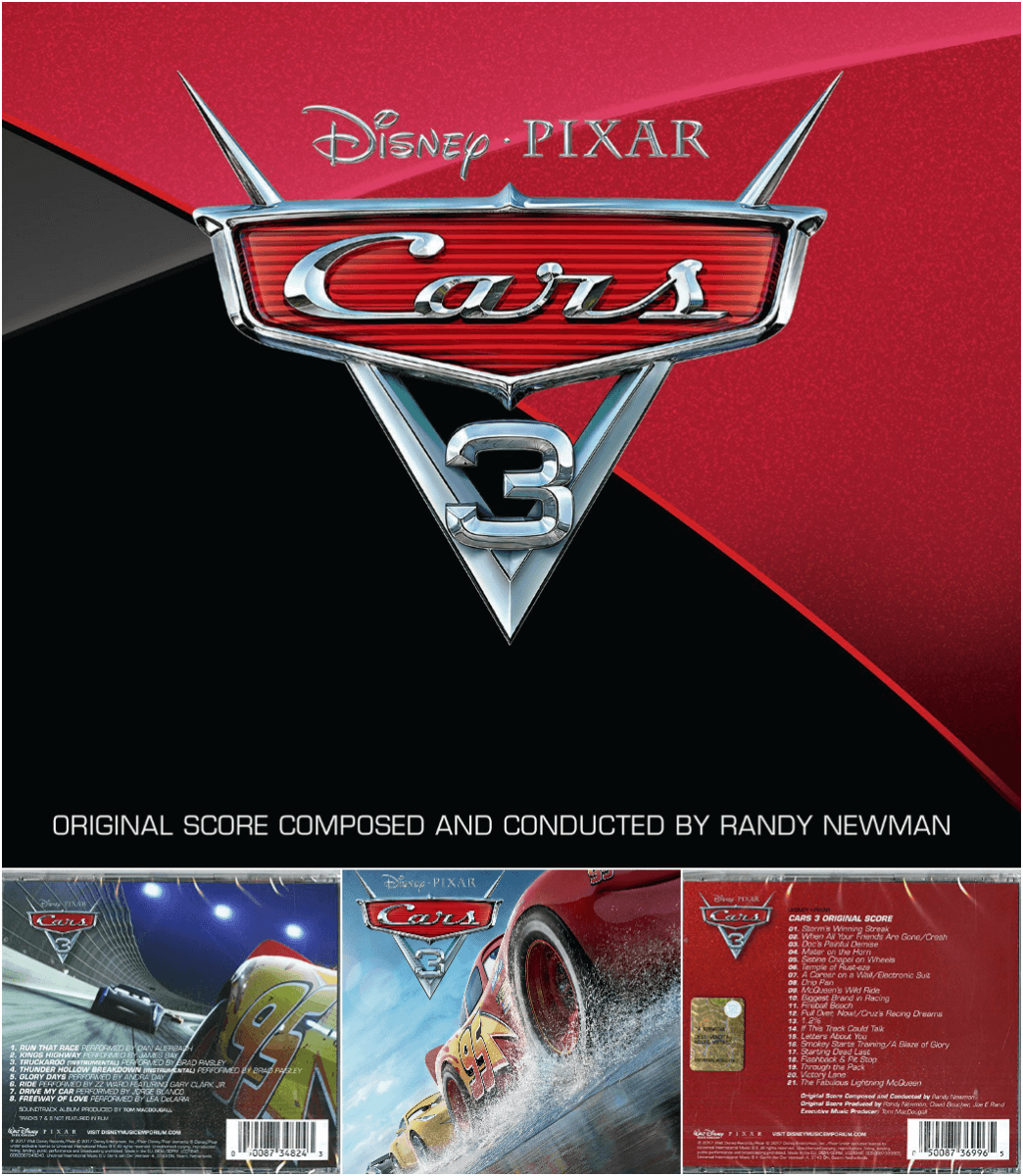 cars 3 music covers credits
