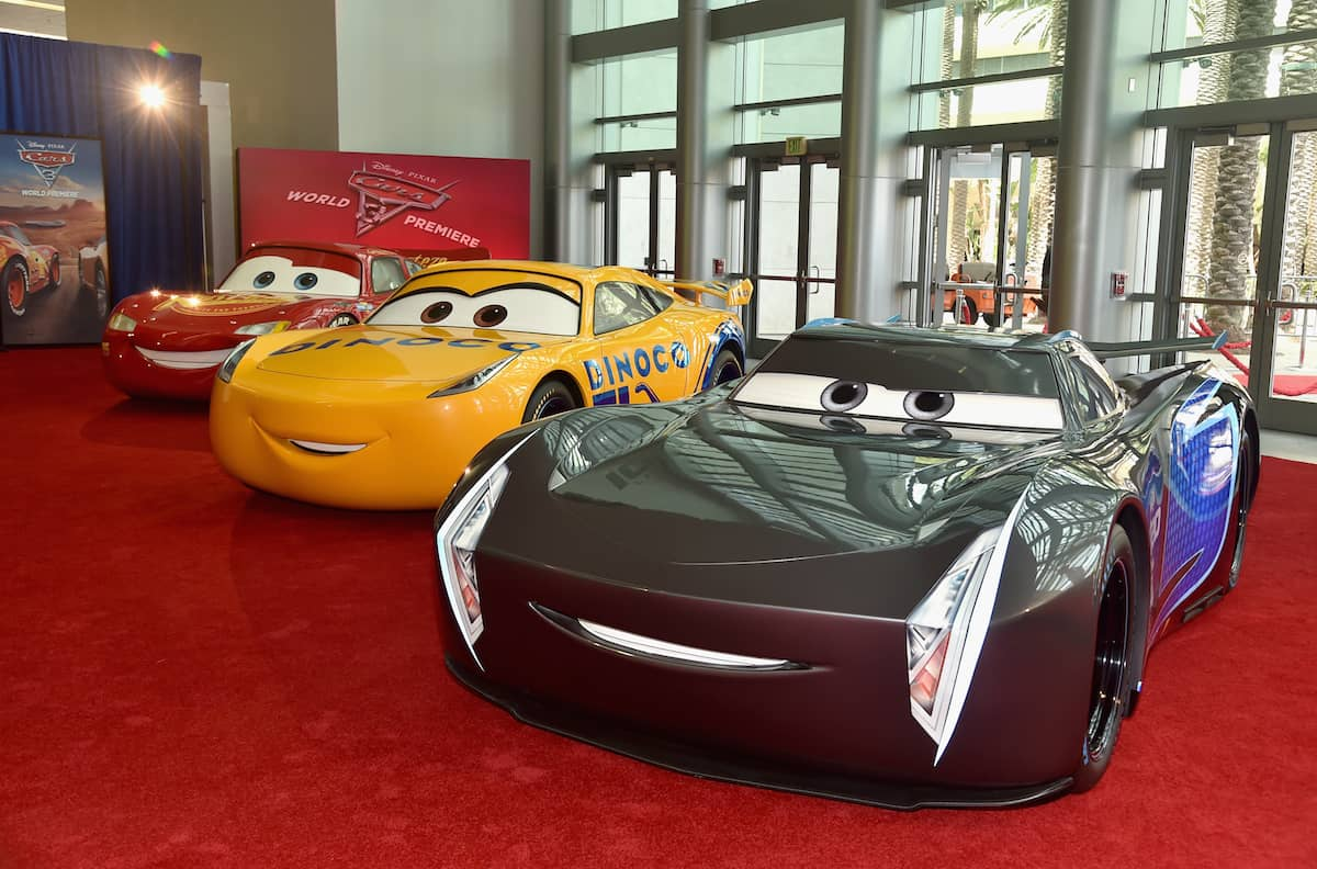 cars 3 life size cars