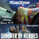 I'm going to Disneyland for the Cars 3 Red Carpet Premiere and More! #Cars3Event #SummerofHeroes