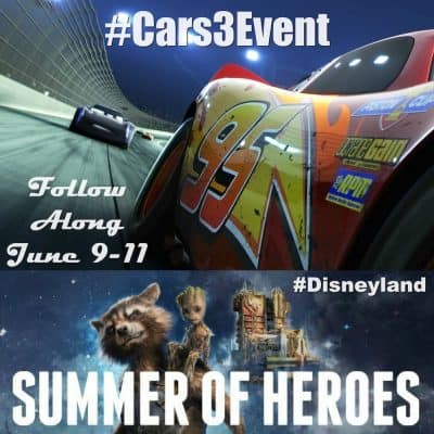 Cars 3 disney blogger press trip