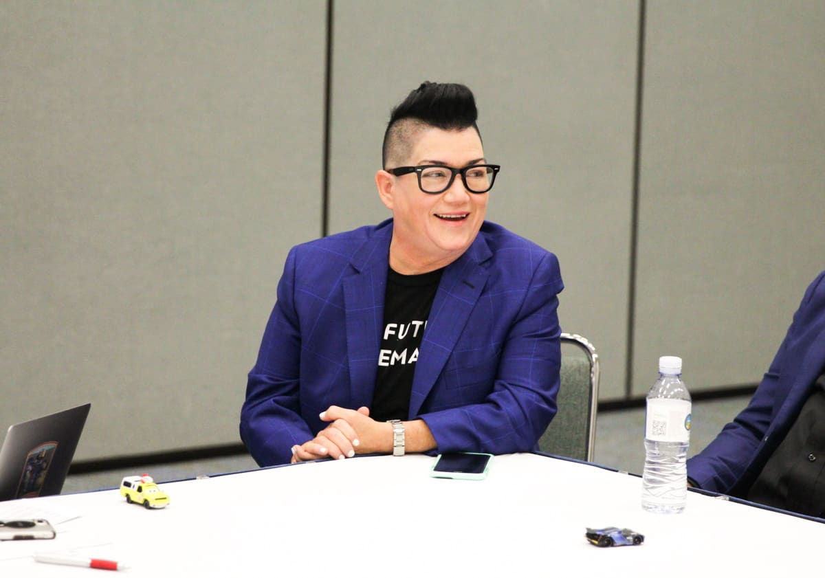 disney pixar mom blogger press trip lea delaria
