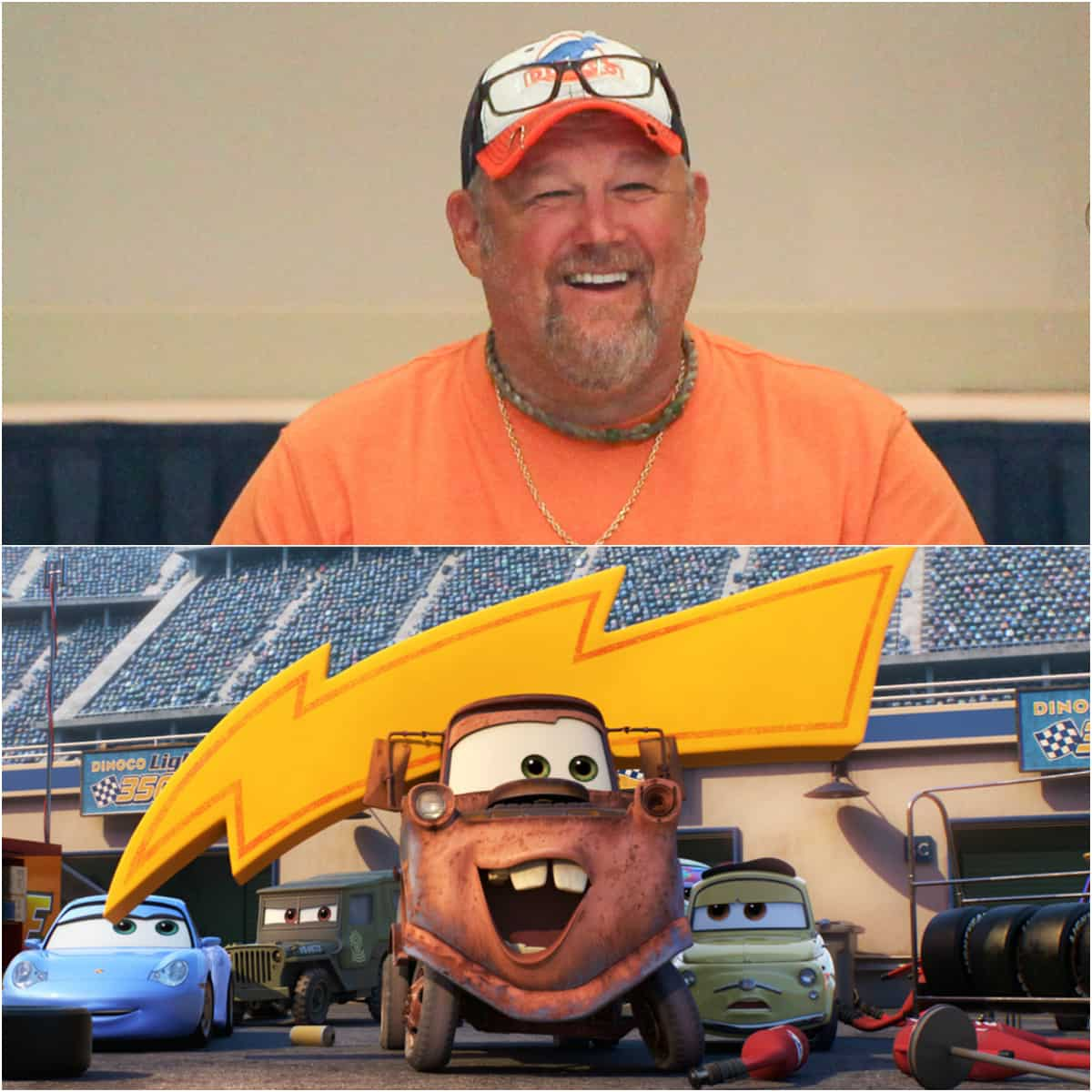 cars 3 larry the cable guy mater