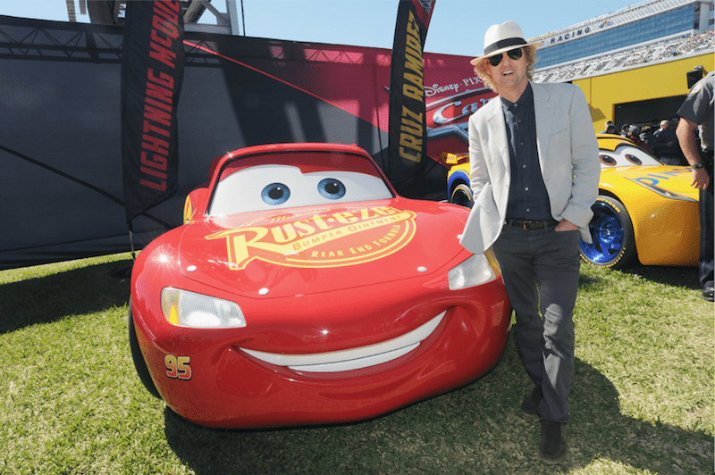 disney blogger press junket cars 3