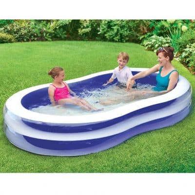 Play Day 103″ Transparent Family Pool only $11.93, Free Shipping Eligible!